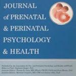 APPPAH (出生前・周産期心理学協会)ジャーナル2020冬号に論文掲載