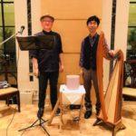 5月28日(木)21:00~21:20アイリッシュハープ奏者みつゆき×瞑想家 上田サトシヒーリング瞑想ライブVol3